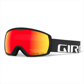 Giro Balance Svømmebriller Herrer, black/vivid ember